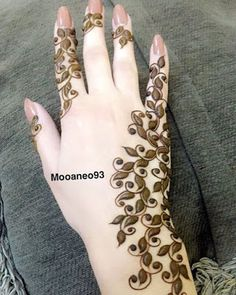 65 Fresh and Latest mehndi designs to try in 2020 Indian Henna Designs, Finger Henna Designs, Mehndi Designs 2018, Modern Mehndi Designs, Mehndi Designs For Girls, Wedding Mehndi Designs, Mehndi Designs For Fingers, Henna Tattoo Designs, Mehandi Designs