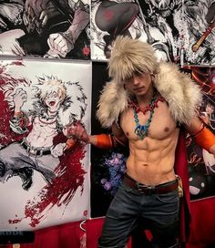Bakugou Cosplay 🔥🔥🔥 Cosplay (コスプレ kosupure), a portmanteau of the words costume play, is a performance art in which participants called cosplayers wear costumes and fashi. Deku Cosplay, Cosplay Boy, Cosplay Anime, Epic Cosplay, Cute Cosplay, Cosplay Makeup, Amazing Cosplay, Cosplay Outfits, Halloween Cosplay