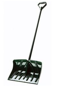 Suncast Snow Shovel/Pusher Combo with Wear Strip Snow Sled, Shovel, Dustpan