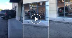 Cliente Insatisfeita Entra Com o Seu Carro Numa Loja Da T-Mobile