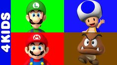 The Mario Bros | Learning Colors