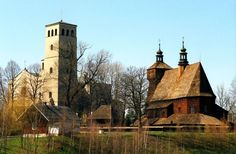 Wooden churches of Małopolska - Haczów: the oldest church in Poland