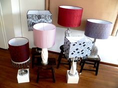 lamparas en diferentes diseños,by catalina buitrago,bogota,col