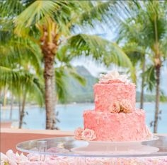 Pretty in Pink Wedding theme at The Royal Hawaiian, a Luxury Collection Resort in Waikiki. Oahu, Pink Wedding Theme, Floral Wedding, Luxury Collection Hotels, Pink Palace, Hawaii Wedding, Pretty In Pink, Wedding Inspiration