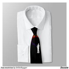 Jazz musician tie  #tie #giftforhim #forhim #design #necktie #giftidea #birthdaygift #giftforfriends #giftformen #giftsomethingspecial  #gifts  #gift  #jazz