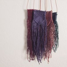 Woven Necklaces by NaativStudios on Etsy