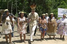 Pin for Later: 27 Pictures of the British Royal Family Dancing Their Butts Off Charles in Guyana in February 2000