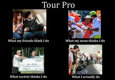 What people in golf think they do and what they really do are often two very different things. | http://golfdig.st/Jb36Lj