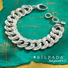 Classy & comfortable! | Chicest Link Bracelet #WomensFashion #SterlingSilver