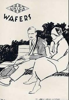 Unica wafers 1928