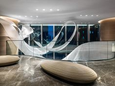 Nikolas posted about this projectin Hong Kong when it was being installed back in February. Now that we've got final photography I wanted to pop in quickly and share these images of the Artwork we...