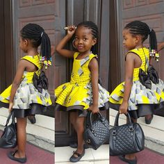 Kids Dresses 2019 : How to Stylishly Dress Your Kids For Events ShweShwe 1 Ankara Styles For Kids, African Dresses For Kids, African Babies, Trendy Ankara Styles, African Children, Latest African Fashion Dresses, African Print Dresses, African Print Fashion, African Clothes
