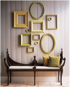 Frame Art Martha Stewart DIY decorating