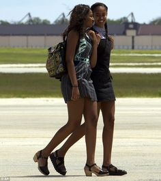 The family vacation comes a week after the oldest daughter, Malia, graduated from the priv...