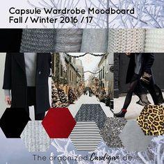 Since the beginning of this year, I'm planning my Capsule Wardrobe with a Moodboard. / Meine Capsule Wardrobe Planung schreitet weiter voran *YAY* Stil, Farben, Stoffe und Wohlfühlschnitt sind ausgewählt.