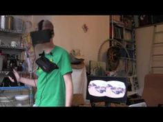 Using the Hydra to be able to move/turn ▶ Hydradeck Oculus Rift Demo - YouTube