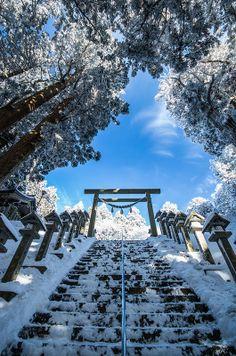 葛木神社 鳥居   Mt.Kongou, Katsuragi shrine Nara,Japan