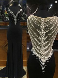 Mermaid Black Prom Dress,Long Prom Dresses,Charming Prom Dresses,Evening Dress, Prom Gowns, Formal Women Dress,prom dress,F240