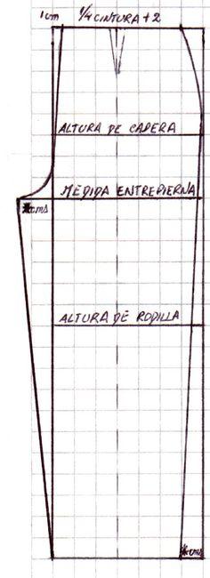 MOLDE BASE DE PANTALON     TRANSFORMACIONES DE PANTALÓN     CONFECCIÓN DE PANTALON       Bueno, bueno, qué te parece? Estás dispuesta a...