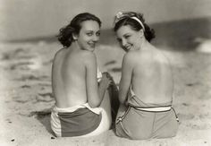 Tracie and I always enjoyed the feel of sand on our ...feet. 1929