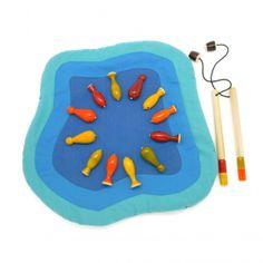 フェアトレード木製玩具|フィッシング|Fishing|お魚何匹釣れるかな?