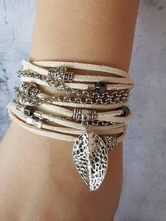 Green hematite women/'s bracelet cube vegan wrap bracelet double brown memory wire bracelet handmade wire bracelet yoga stack bracelet boho