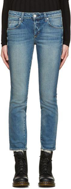 AMO Indigo Kate Jeans. #amo #cloth #jeans