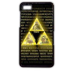 The Legend Of Zelda Triforce TATUM-10840 Blackberry Phonecase Cover For Blackberry Q10, Blackberry Z10