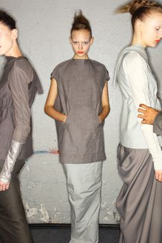 Shades of gray #RickOwens #DesignerSpotlight