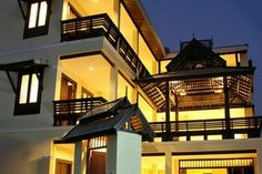 modern thai resort images | NA THAPAE is a low-rise Lanna Thai Style, architecture with a resort ...