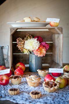 Fall rustic apple bridal inspiration
