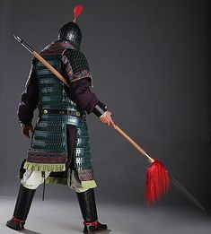 Armor All, Arm Armor, Body Armor, Chinese Armor, Chinese Man, Lamellar Armor, Samurai Armor, Fantasy Armor, Ancient China