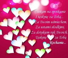 czekam na spotkanie i tęsknię Kochanie... Education Humor, Boyfriend Quotes, Quote Of The Day, Told You So, Merry, Presents, Aga, Beautiful Pictures, Number