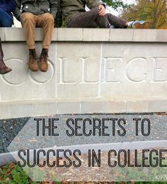 Here is what the research says are the best ways to find success in college.  College life.