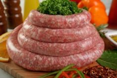 Traditional Homemade Sicilian Sausage