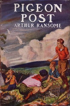 Pigeon Post Pigeon Post, Arthur Ransome, Swallows And Amazons, Painting, Painting Art, Paintings, Painted Canvas, Drawings