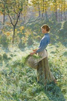 Summer Morning ~ Emile Claus ~ (Belgian 1849-1924)