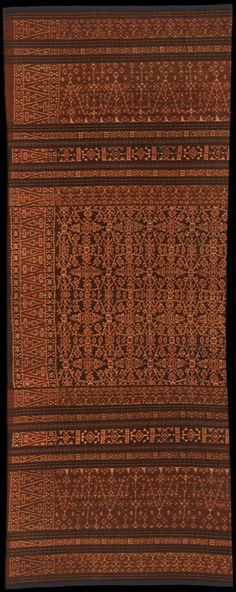 Ikat from Lio, Flores, Indonesia
