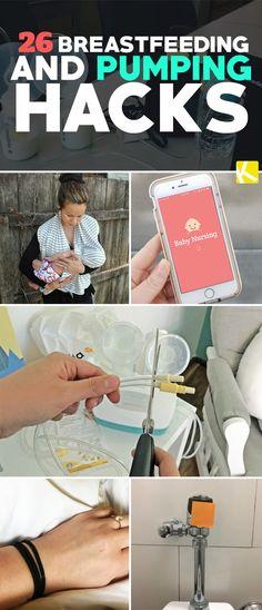 26 Genius Breastfeeding and Pumping Hacks Every Nursing Mom Needs to Know