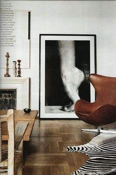 egg chair + art #Arts Design