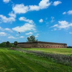 Fort Pulaski was constructed between 1829 - 1847 to protect the entrance of the Savannah River. It's a must visit when you're in town with the family…