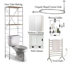 6 Bathroom Spacesaver Resource Guides