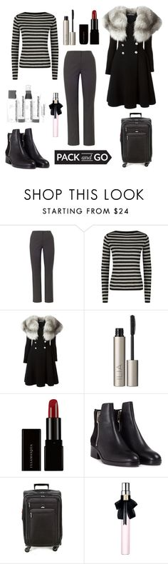 """""""Untitled #470"""" by elizabeth-buttery on Polyvore featuring Chesca, MaxMara, Alexander McQueen, Ilia, Illamasqua, 3.1 Phillip Lim, Delsey, Yves Saint Laurent and Dermalogica"""