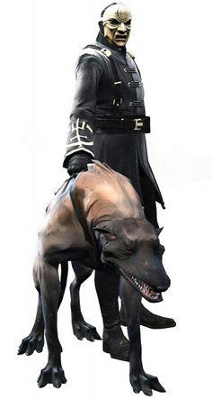 Overseer & wolf hound