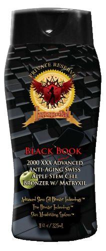Immoral Black Book 2000 XXX Advanced Anti-Aging Tanning Bronzer
