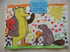kinderboekenweek 2018: grote beer en kleine bever Grinch, School, Art, Everything, Seeds, Art Background, Kunst, Performing Arts, Art Education Resources