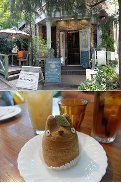 totoro-cream-puff-shimokitazawa Shirohige's Cream Puff Shop : Tokyo Prefecture, Setagaya Shirota 5-3-1