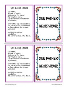 help catholics learn the our father prayer this set of two identical learning cards focuses on the lords prayer this read only style learning card - Father Coloring Page Catholic