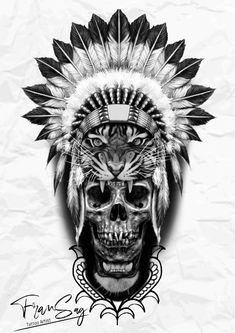 Lion Leg Tattoo, Lion Tattoo Sleeves, Lion Head Tattoos, Leg Sleeve Tattoo, Indian Tattoo Design, Tiger Tattoo Design, Tattoo Designs, Tatto Skull, Skull Rose Tattoos