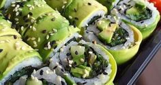 Sushi lovers who also like green... Sushi lovers who also like green stuff!!http://ift.tt/2vareZG Found on Pinterest All Good Recipes